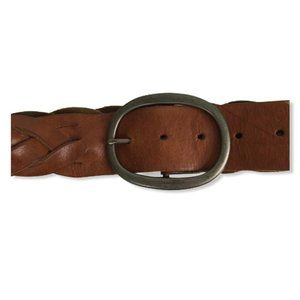 American Eagle Womens Small Brown Braided Leather